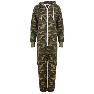 View Item Camo Print Onesie
